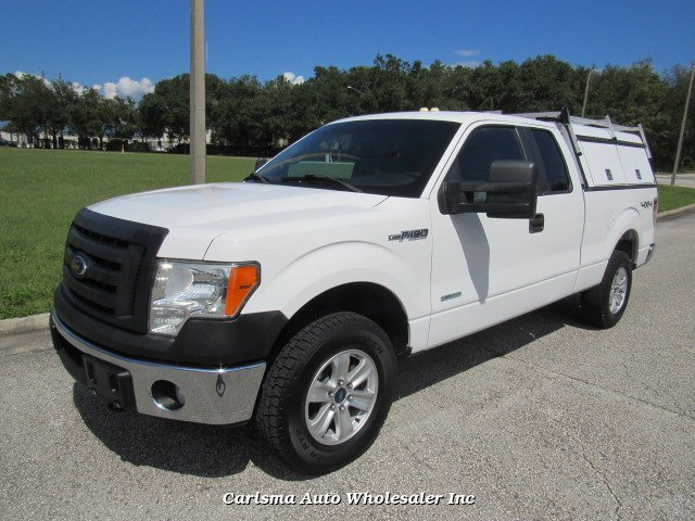 2012 Ford F-150 XLT SuperCab 6.5-ft. Bed 4WD 6-Speed Automat